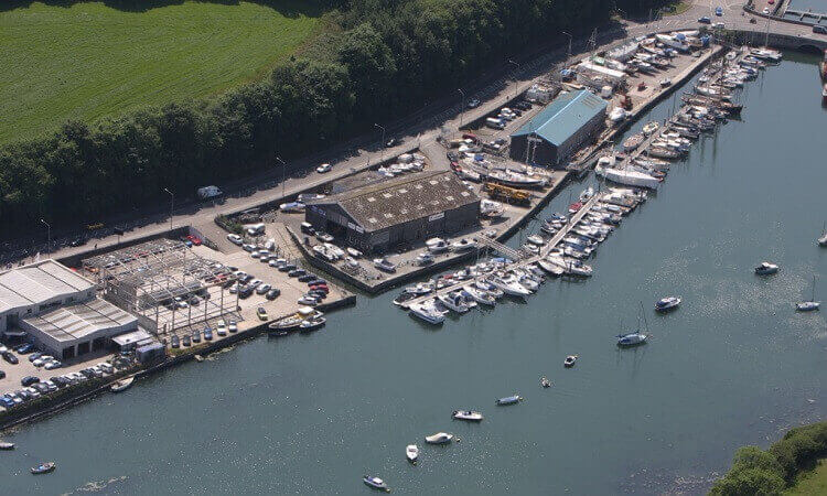 Falmouth Yacht Brokers Site, Penryn