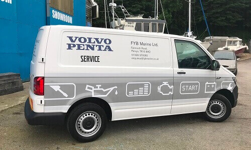Volvo Penta Offsite Support, Cornwall
