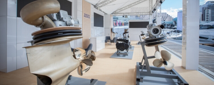 Volvo Penta new D4 and D6 propulsion packages