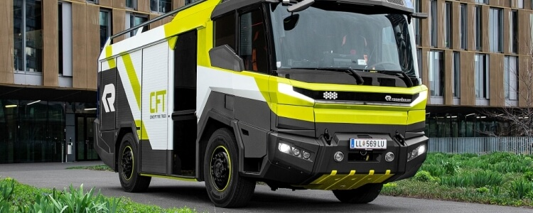 Volvo Penta deliver electric Fire Trucks