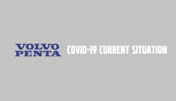 Volvo Penta deliveries, coronavirus situation