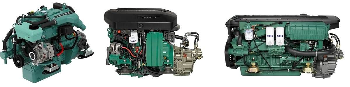 Volvo Penta replacement diesel yacht engines, Falmouth Yacht Brokers