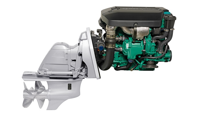 New Volvo Penta D3-140 DPS Sterndrive Package