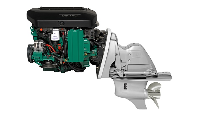 New Volvo Penta D3-140 SX Sterndrive Package