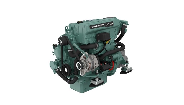 Volvo Penta D2-50 service parts, lubricants and spares