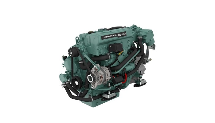 Volvo Penta D2-60 service parts, lubricants and spares