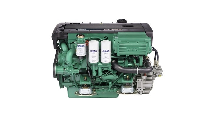 Volvo Penta D4 service parts, lubricants and spares