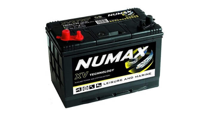 Numax batteries for marine use