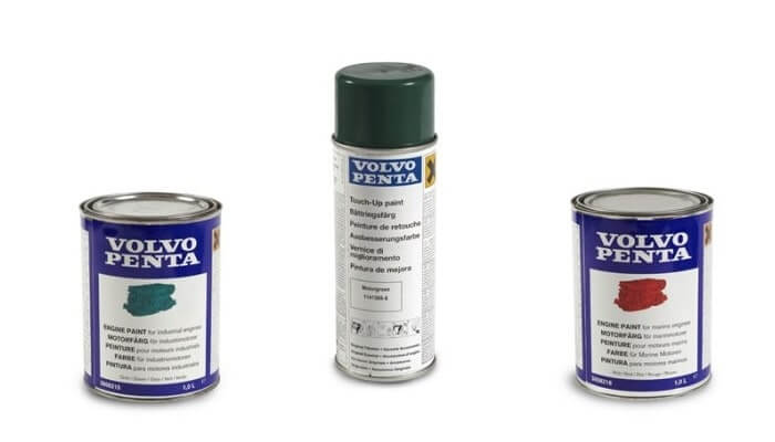 Volvo Penta genuine paints