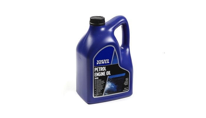 Volvo Penta genuine petrol oils and lubricants
