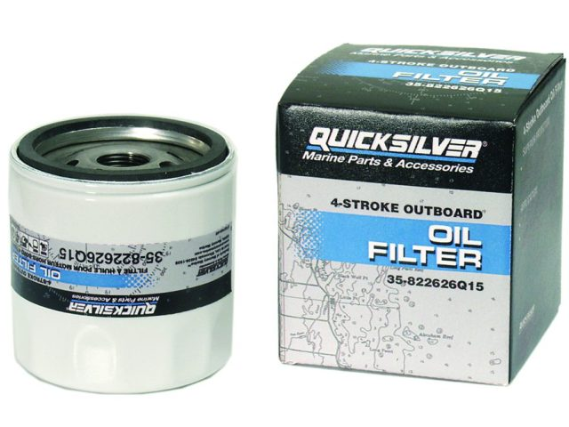 Genuine Mariner Oil and Fuel Filters by Quicksilver for