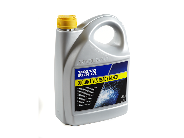 volvo penta vcs yellow ready to use coolant, 5 litres, part numberVolvo Penta Coolant #7